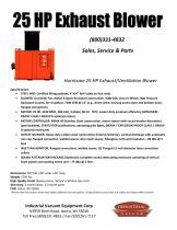 25 HP Exhaust Blower - 1