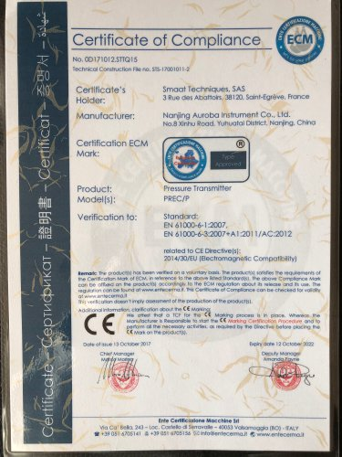CE certificate of Low Voltage