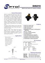 OIS21C Optical smart sensor for hydraulic cylinders