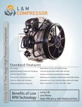 Grizzly G510 Five-Stage High Pressure Compressor - 1