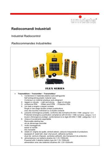 Industrial Radiocontrol