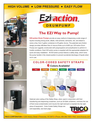 EZI-action Drum Pumps