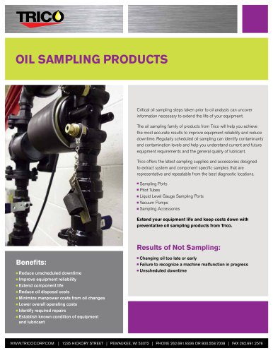Oil  Sampling products