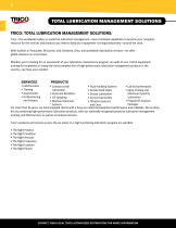 TOTAL LUBRICATION  MANAGEMENT SOLUTIONS - 3