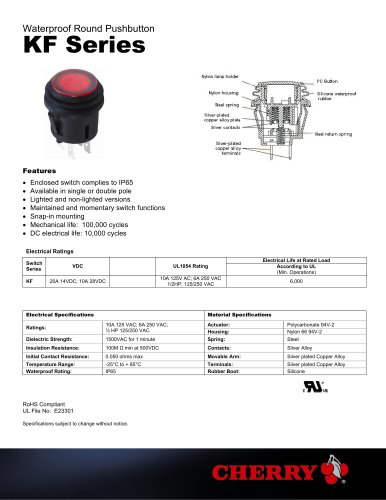 Pushbutton KF Series