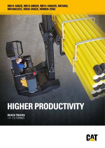 HIGHER PRODUCTIVITY