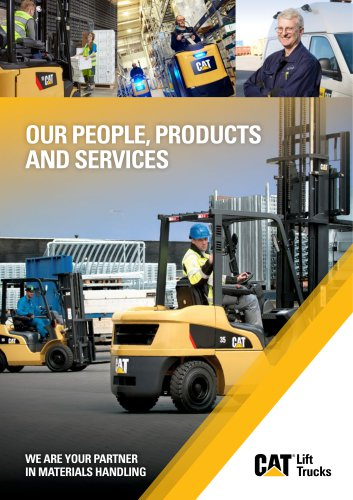 OUR PEOPLE, PRODUCTS AND SERVICES