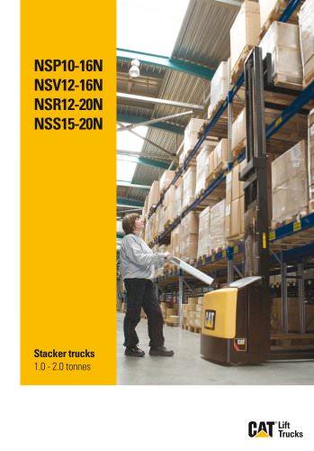 Stacker trucks 1.0 - 2.0 tonnes