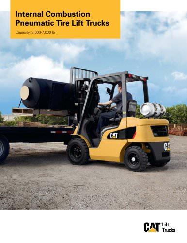 Internal Combustion Pneumatic Tire Lift Trucks