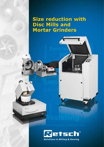 Mortar and Disc Mills