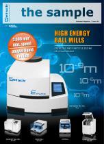 the sample - High Energy Ball Mills