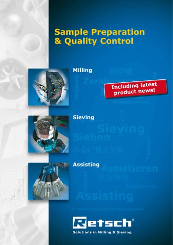 Sample preparation & quality control
