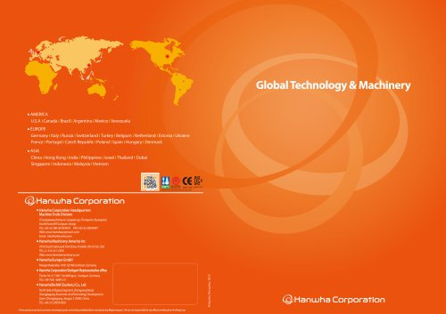 Global technology and machinery
