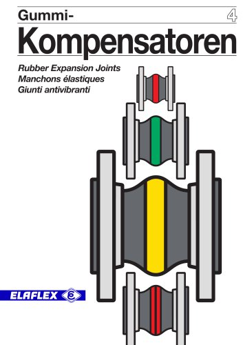 Elaflex Section 4: Rubber Expansion Joints