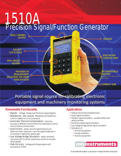 1510A PRECISION SIGNAL SOURCE / FUNCTION GENERATOR