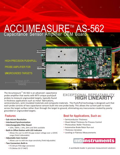 ACCUMEASURE AS-562