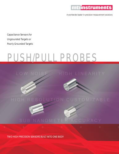 ACCUMEASURE CAPACITANCE PROBES - PUSH-PULL