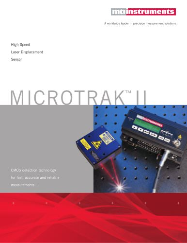 Microtrak II High Speed Laser Displacement Sensor