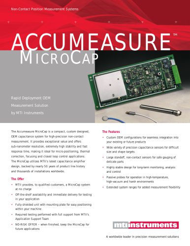 OEM capacitance board