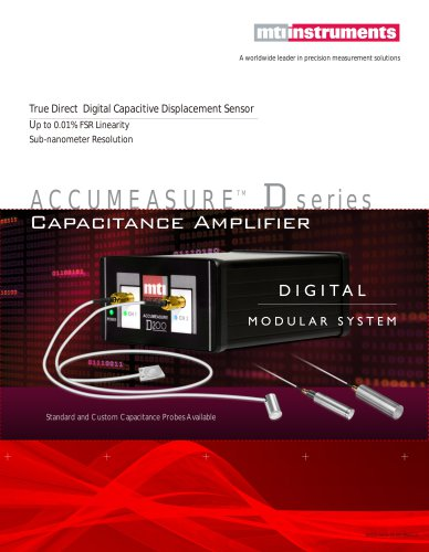 TRUE Digital Capacitance Amplifier