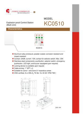 Safety Control-Control Station (KC0510)