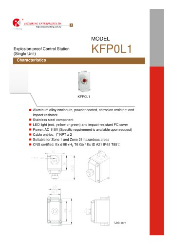 Safety Control-Control Station (KFP0L1)