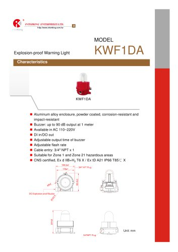 Safety Control-Warning Light (KWF1DA)