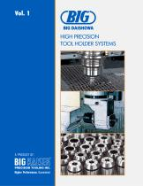 BIG Daishowa Vol. 1 High Precision Tool Holder Systems