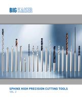 Sphinx Vol. 2 High Precision Cutting Tools