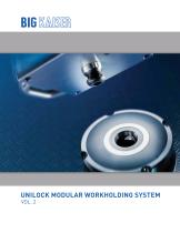 Unilock Vol. 2 Modular Workholding System