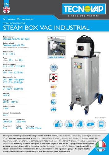 STEAM BOX VAC INDUSTRIAL