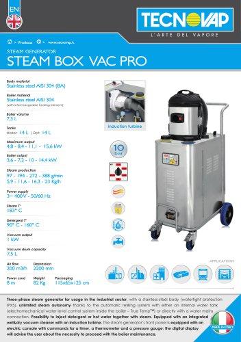 STEAM BOX VAC PRO