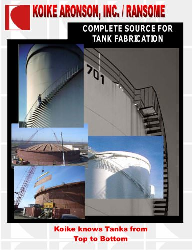 Complete Tank Fabrication Equipment