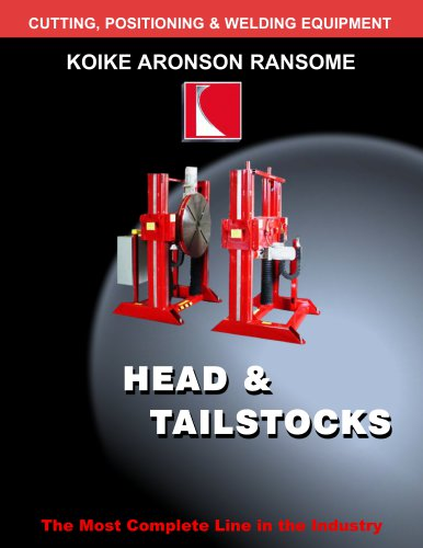 Headstock and Tailstock