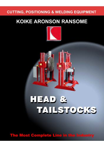 Headstocks & Tailstocks
