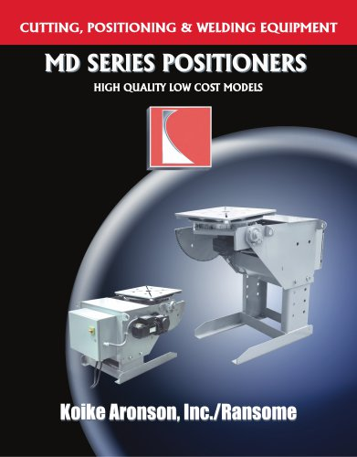 MD SERIES POSITIONERS