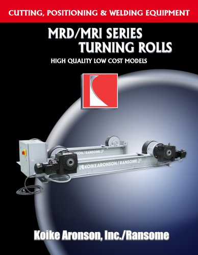 MRD/MRI SERIES TURNING ROLIS