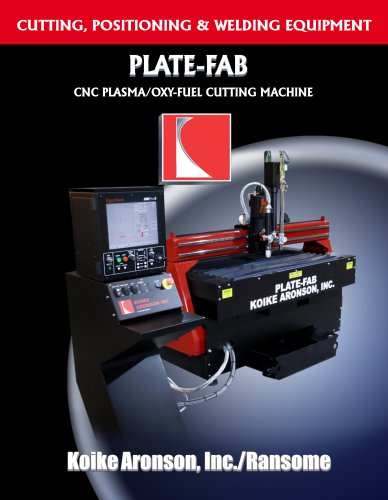 Plate-Fab Plasma/Oxy-fuel CNC Cutting Machine