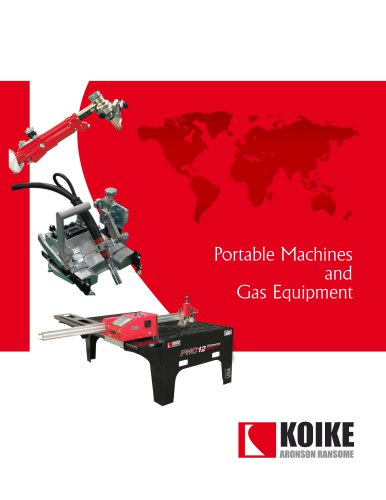 Portable Machines and Gas Equipment