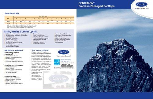 Centurion Premium Constant Volume Rooftops