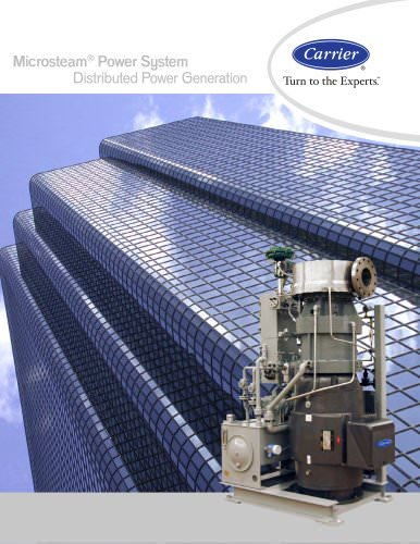Microsteam® Power System, Distributed Power Generation