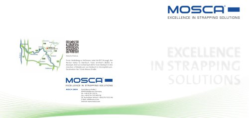 MOSCA - Excellence in Strapping Solutions
