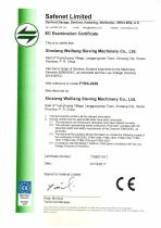 CE certificates gyratory screen