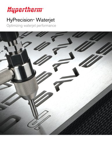 HyPrecision Waterjet Pump