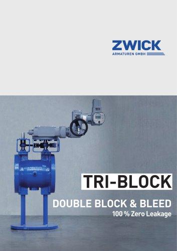 TRI-BLOCK DOUBLE BLOCK & BLEED