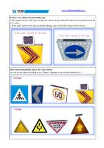 Solar Stop Warning Sign SLD-S2 - 2