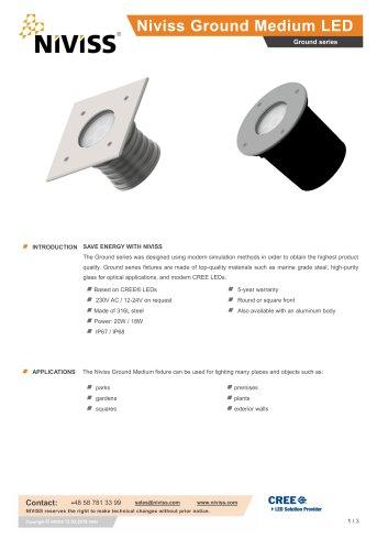 Niviss Ground Medium LED