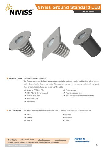 Niviss Ground Standard LED