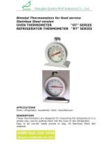 Oven & Refrigerator Thermometer