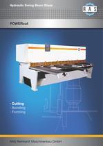 POWERcut swing beam shears 6.3 mm